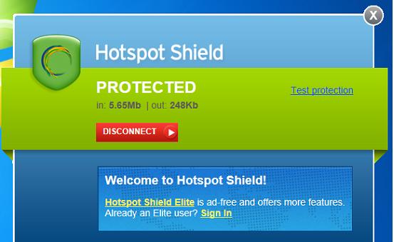Hotspot Shield Elite 7.20.9 Crack