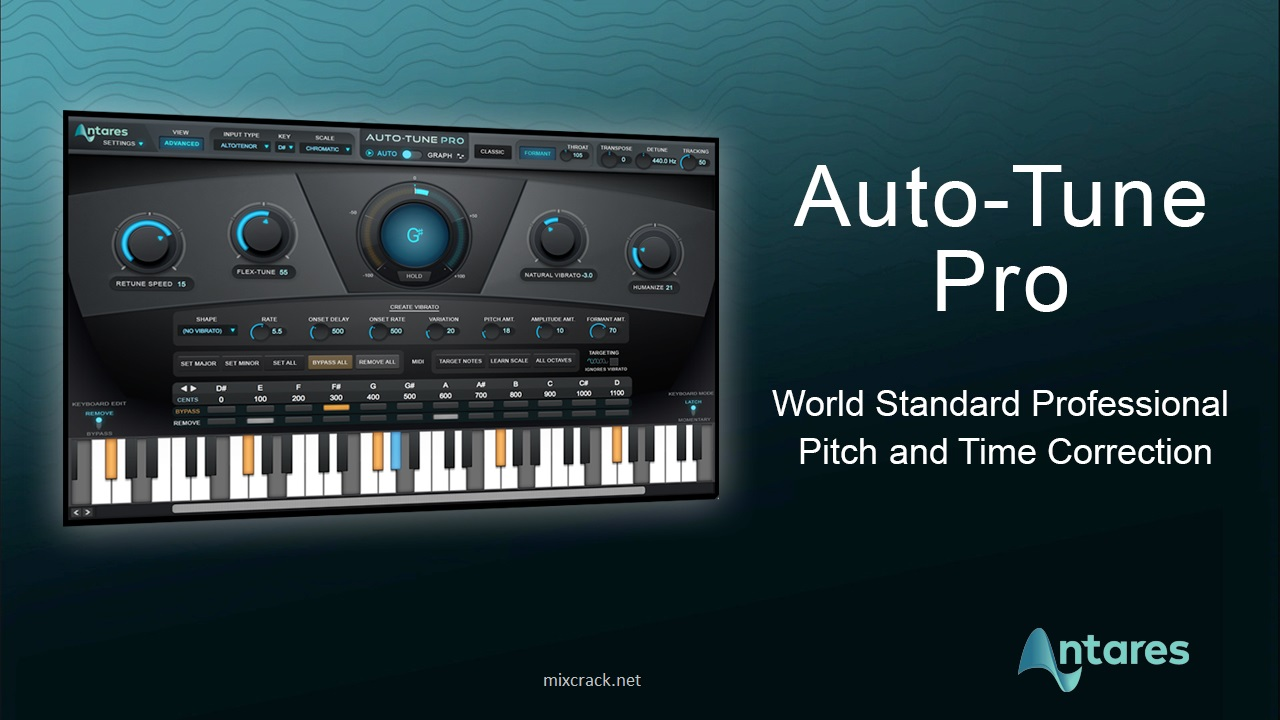 Antares Autotune Pro Crack v With Autotune Crack Torrent Download