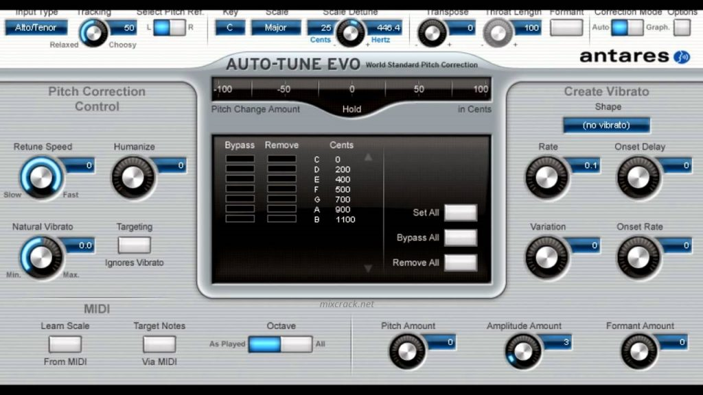 Auto-Tune Evo VST 6.1.0 Crack + License Key (Mac/Win) Latest!