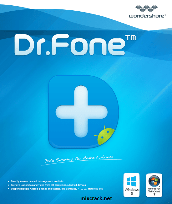 Wondershare Dr. Fone 10.9.0 Crack + License Key [Latest]