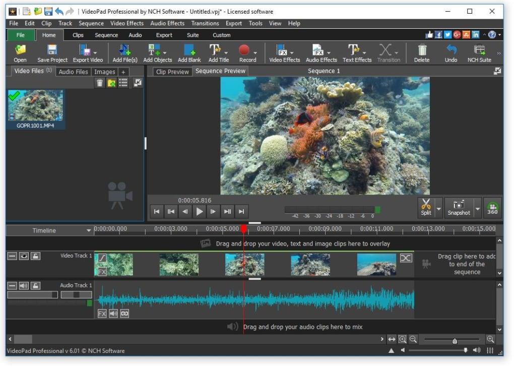 VideoPad Video Editor Crack & Keygen Free Download